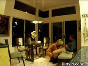 Well Placed Hidden Cameras Catch Blonde Housewife Cheating