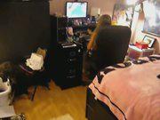 Canadian Blondy Sextape In Bedroom